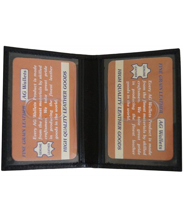 Wallets Genuine Leather Double Licence