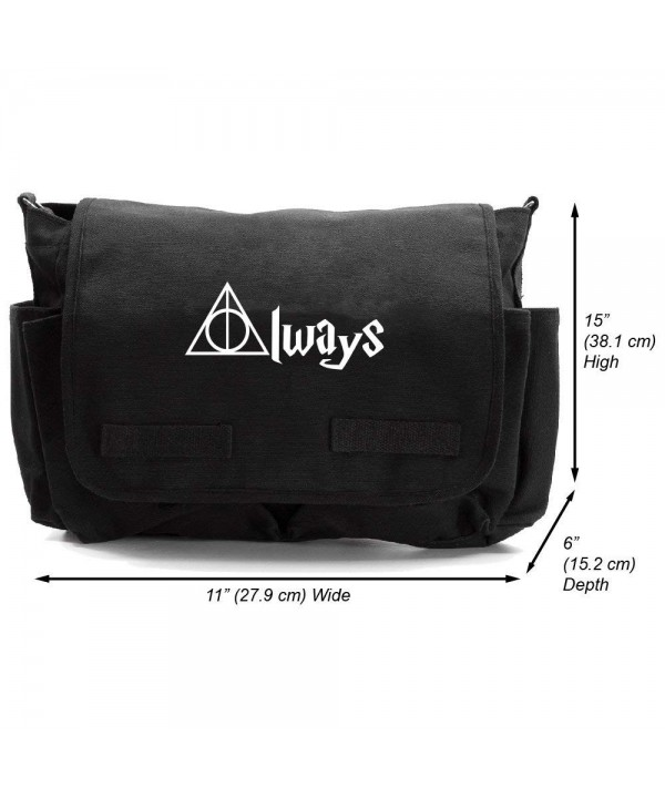 Always Potter Canvas Messenger Shoulder