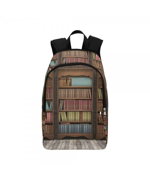 your fantasia Daypack Backpack Vintage Bookshelf