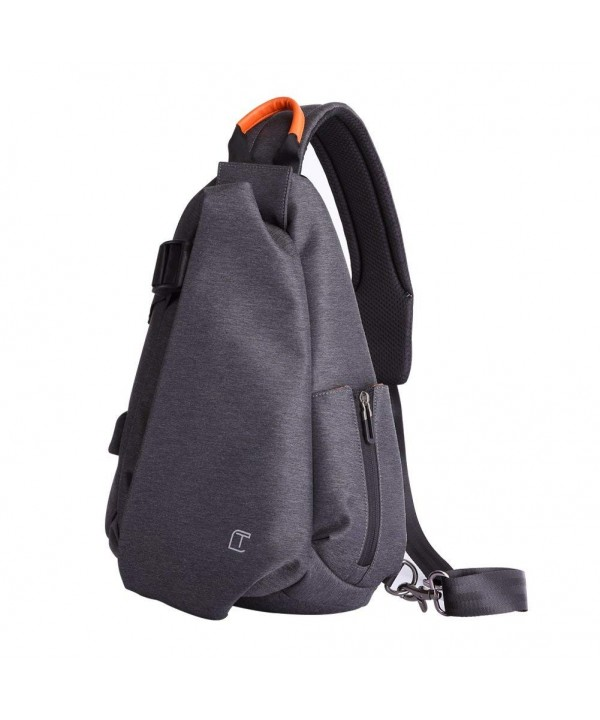 Crossbody Waterproof Padded Shoulder Backpack