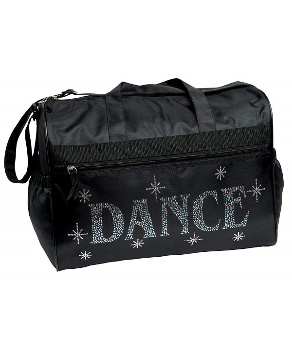 Black Bling Dance Duffel Bag