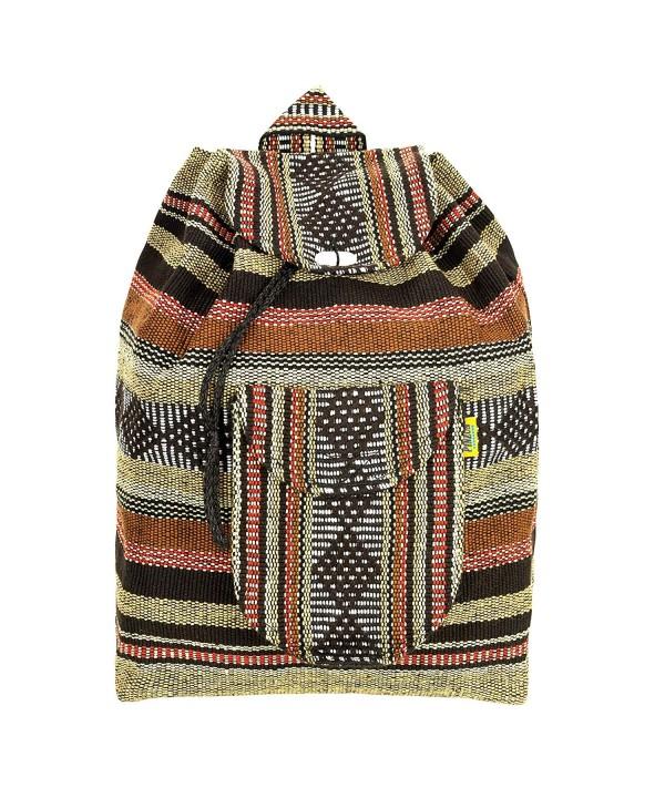 Backpack Rucksack Foldable Colorful Bohemian