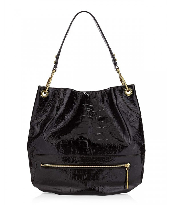 orYANY Croco Embossed Patent Leather