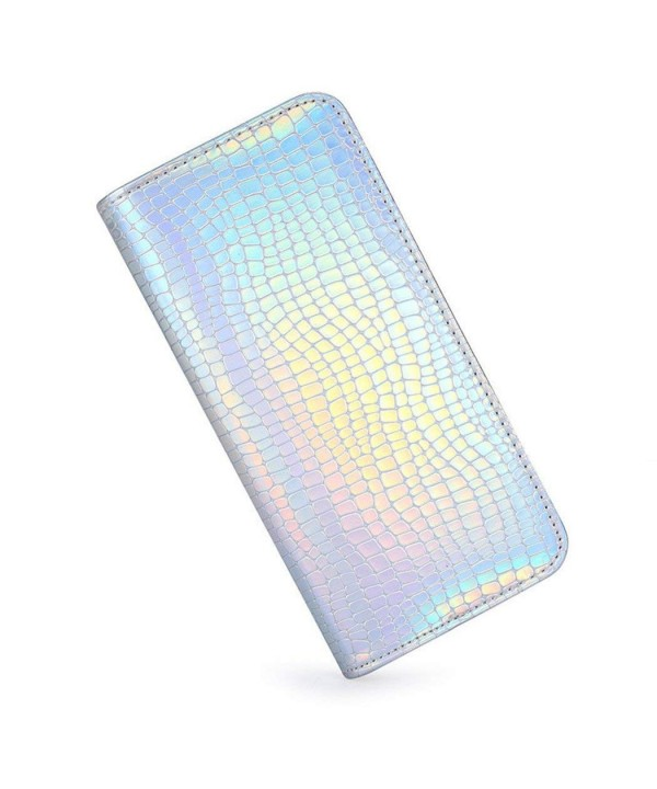Marchome Womens Holographic Clutch Snakeskin
