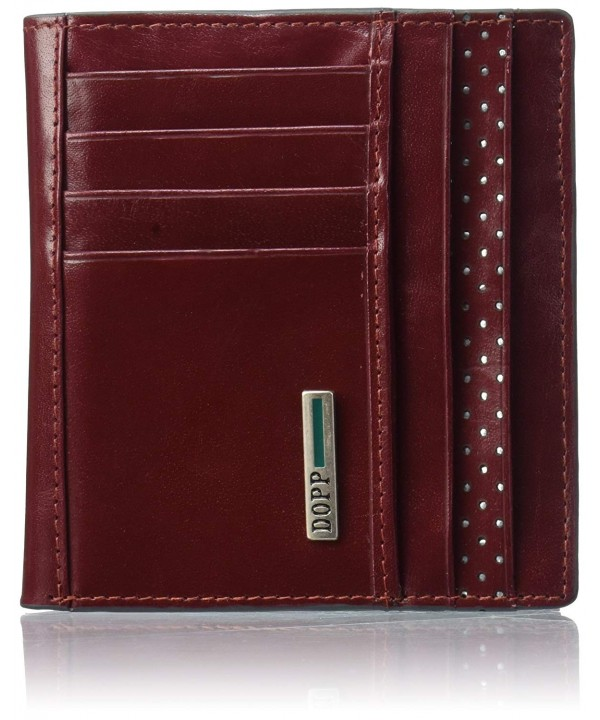 Dopp Blocking Leather Convertible Burgundy