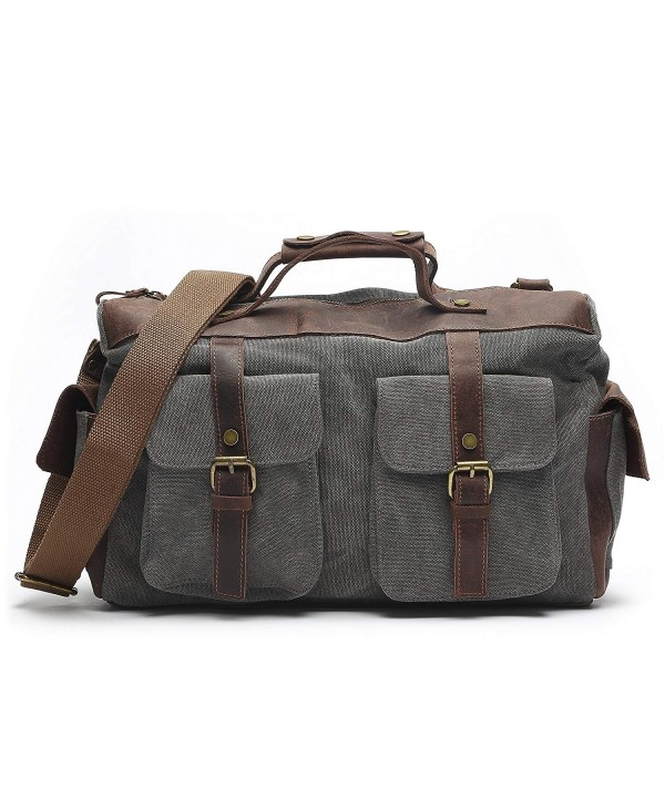 Vintage Messenger Business Shoulder Briefcase