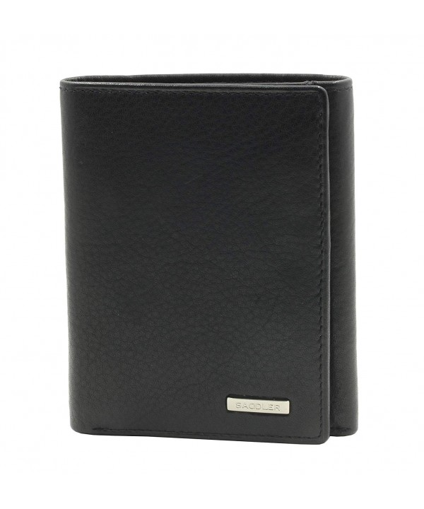 SADDLER Leather Credit Trifold Wallet