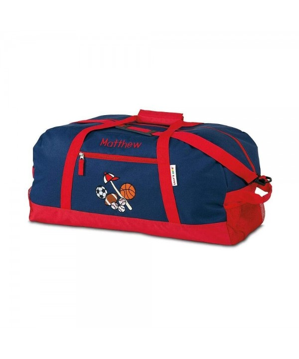 Sports Kids Personalized Medium Duffel