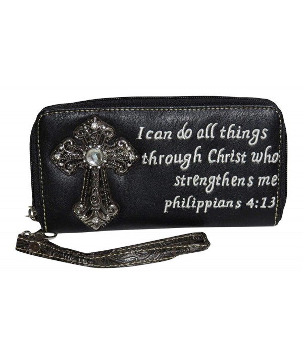 Rhinestone Cross Phil Accordian Accessories