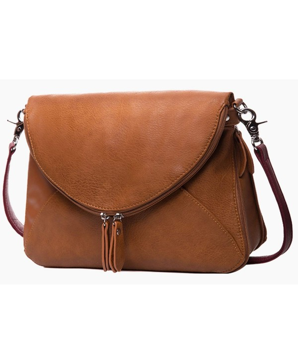 Medium Crossbody Zipper Shoulder Satchel