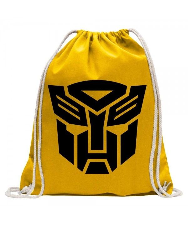 Transformers emblem Gymbag shopping drawstring
