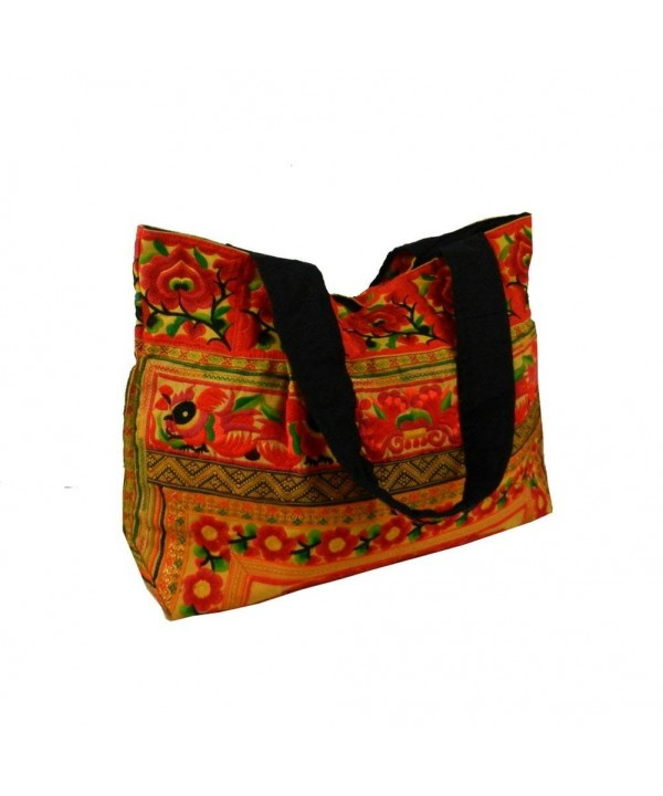 Shoulder Hilltribe Ethnic Embroidered Fabric