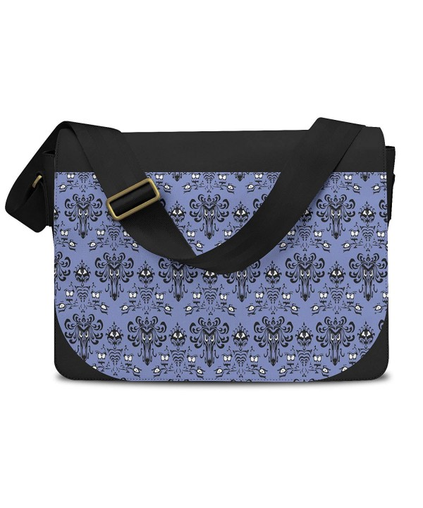Haunted Mansion Wallpaper Messenger Bag