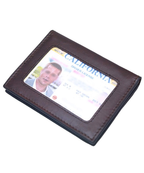 Leather Wallets Business Wallet Organizer