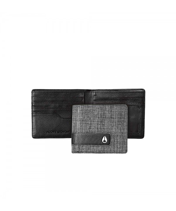 Nixon Showoff Bi Fold Wallet Black