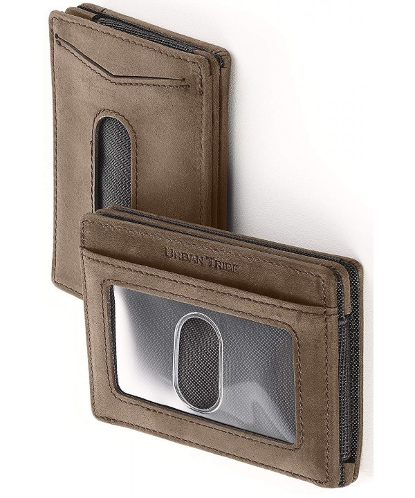Compact Sleeve Wallet Premium Leather