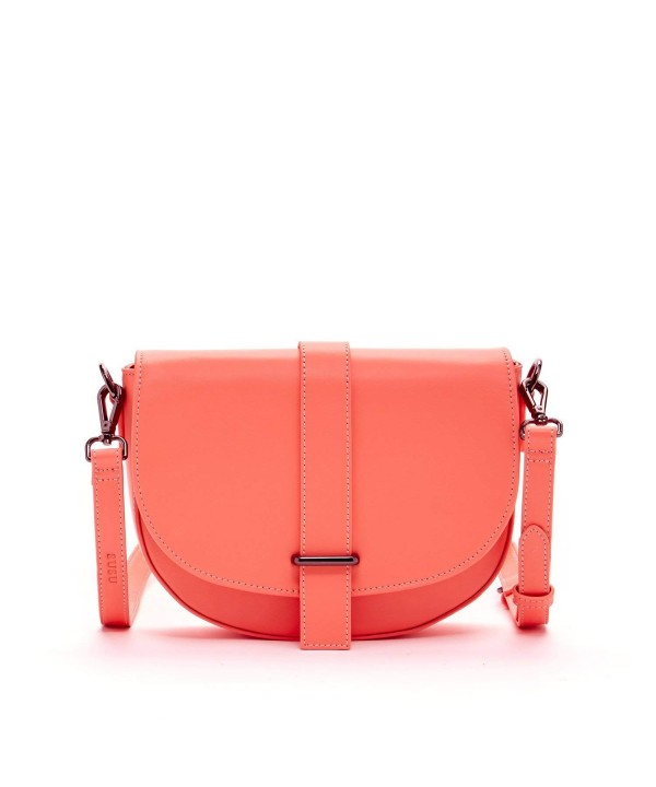 SUSU Alexandra Leather Crossbody Saddle