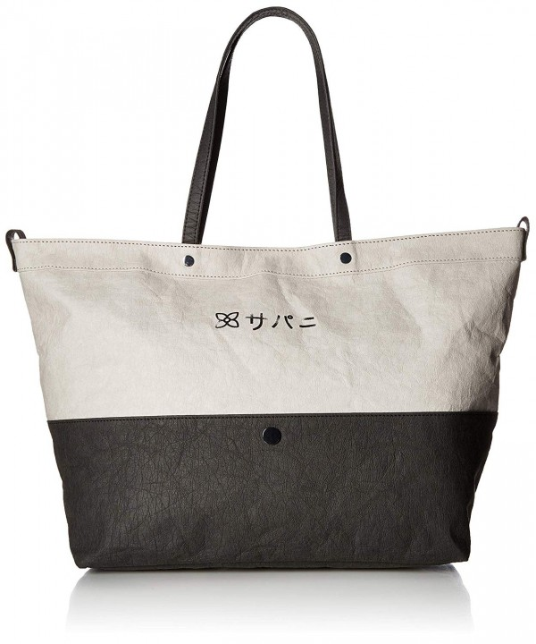 Sherpani Paper Leather Tote Stone