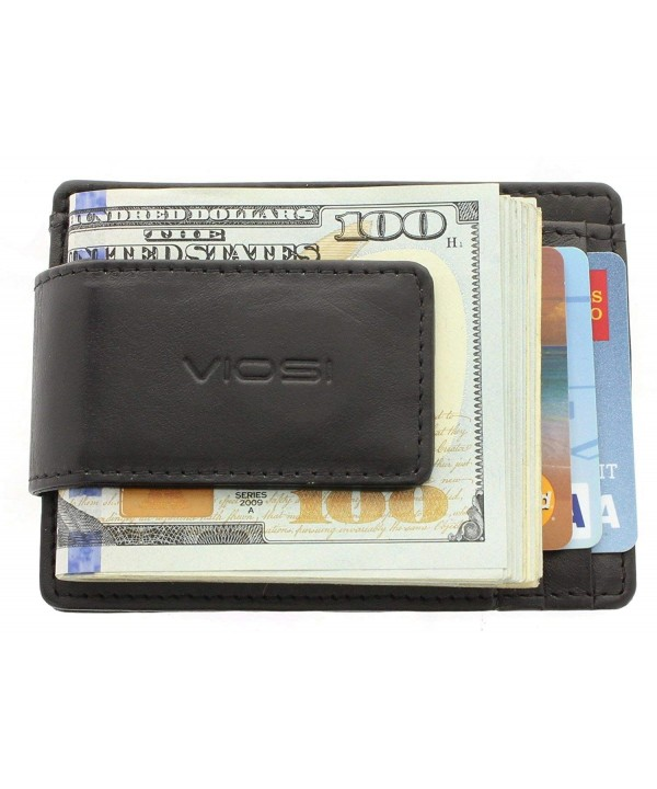 Viosi Leather Magnetic Pocket Wallet