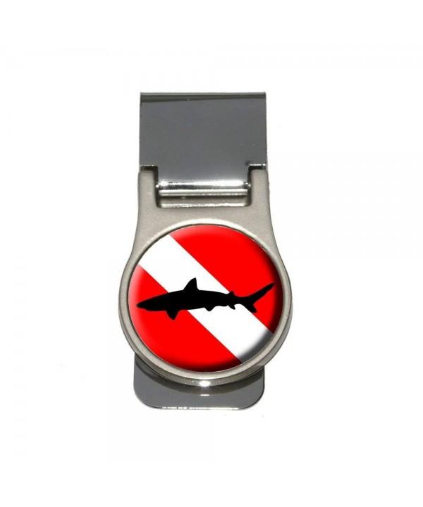 Diving Flag Scuba Diver Shark