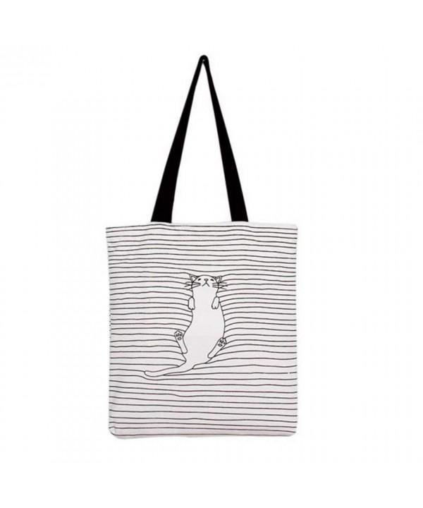 Canvas Handbag Zipper Shoulder Travel
