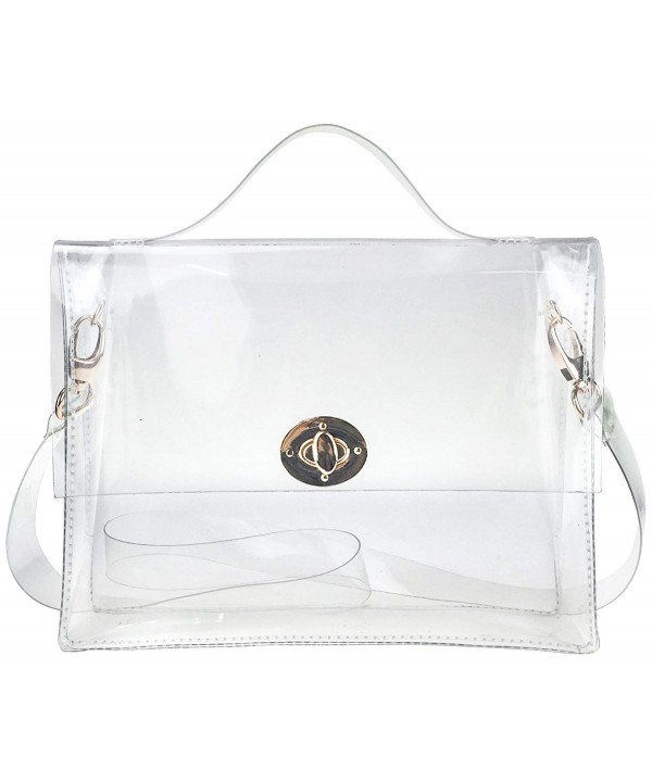 Closure Transparent Messenger Shoulder Approved x