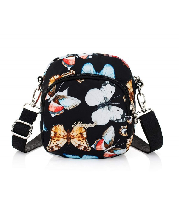Nawoshow Crossbody Messenger Shoulder Butterfly