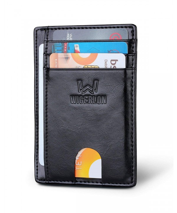 Minimalist Blocking Wallet Genuine Leather