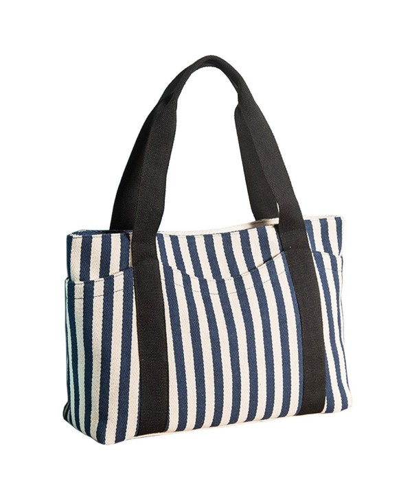 Lavogel Womens Striped Shoulder Handbag