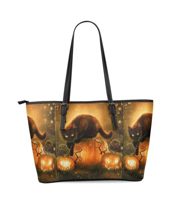 InterestPrint Halloween Leather Shoulder Handbags