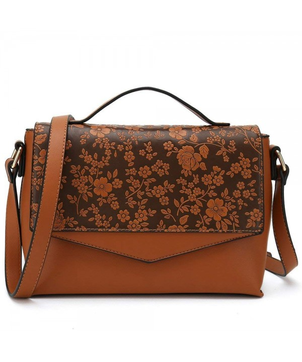 Floral Designer Shoulder Fashion Handbag