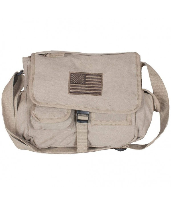 American Messenger Pockets Washed Canvas