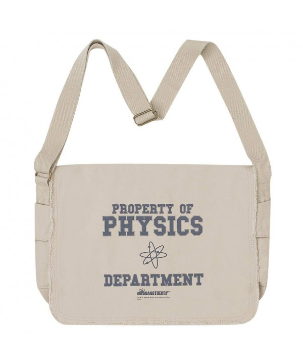 Bang Theory Physics Department Messenger