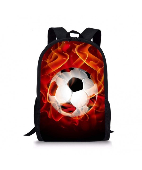 Showudesigns Personalized Football Backpack Rucksack