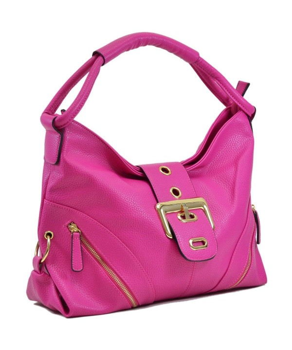 Shoulder Buckled Handbag Designer Fashion