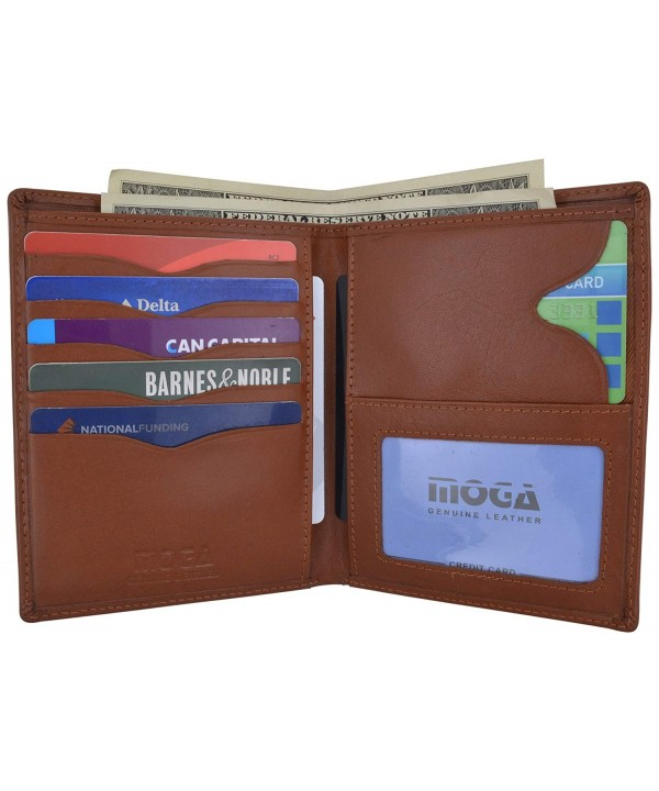 Genuine Leather Hipster Bifold Credit