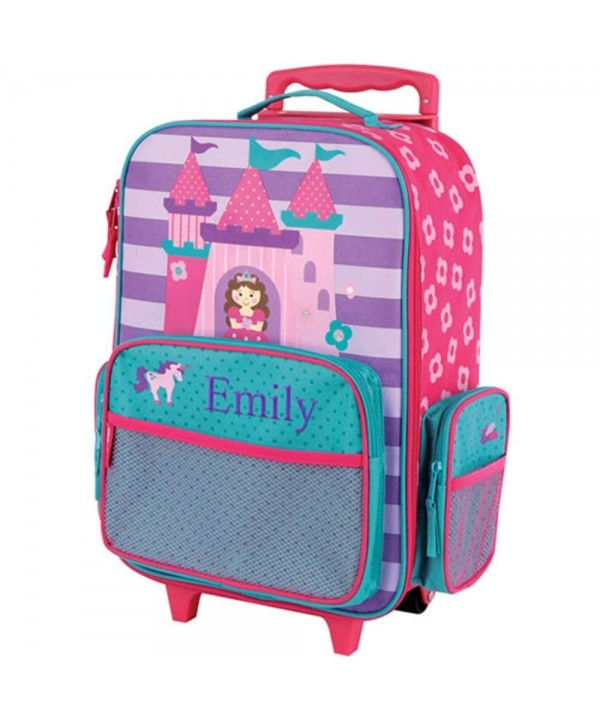 Embroidered Princess Rolling Luggage Multiple