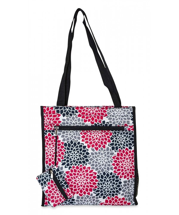 Ever Moda Floral Tote Bag