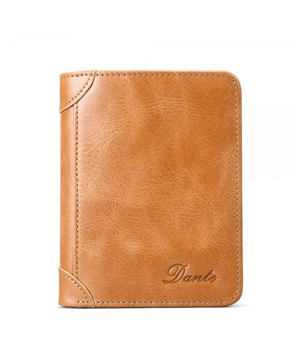 Dante Bifold Vintage Leather Wallet