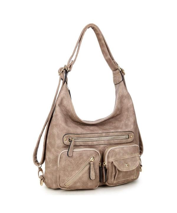 Convertible Shoulder Backpack Vintage Designer