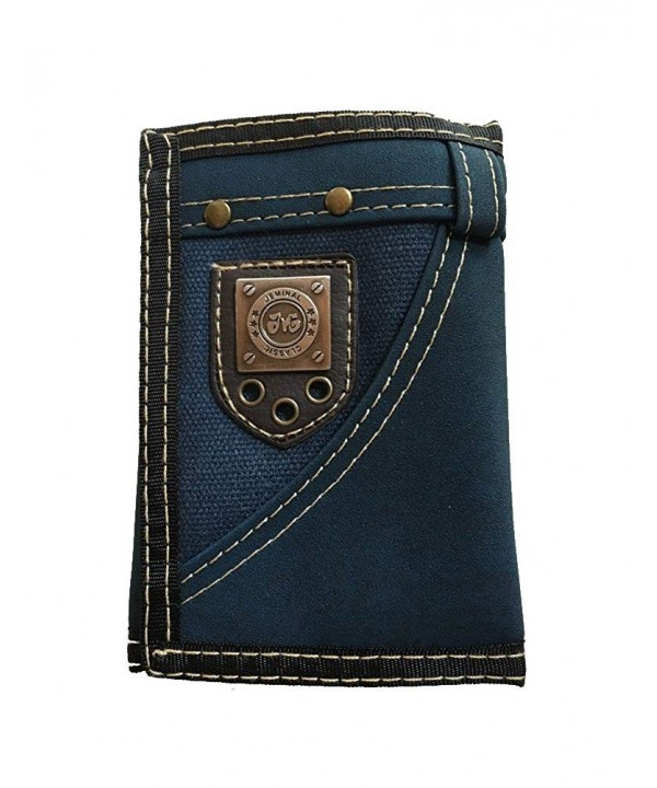iToolai Unisex Leather Trifold Wallets