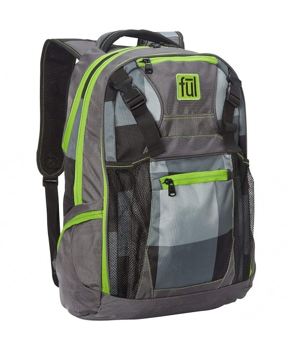 Troubleshooter Laptop Backpack 17 Inch Green