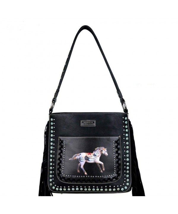 TPP02G 116 Painted Collection Concealed Handbag Black