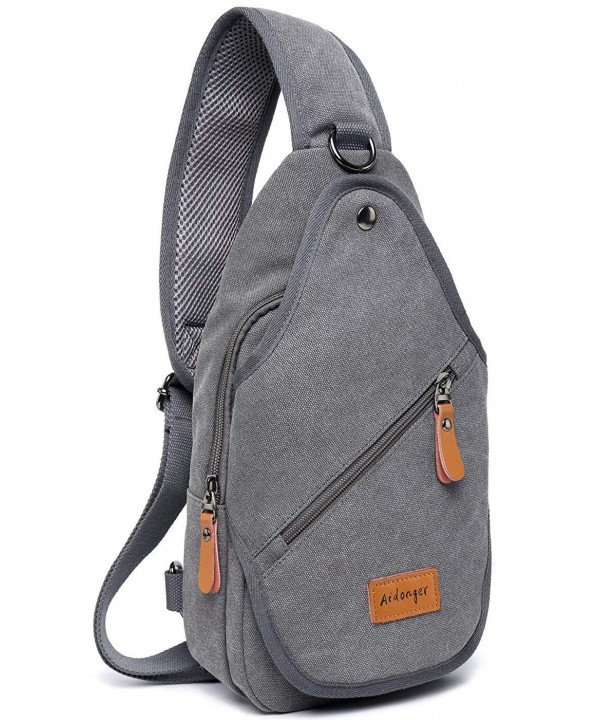 Aidonger Canvas Sling Chest Messenger