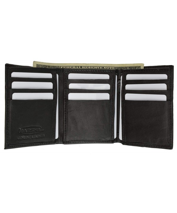 Cowhide Leather Trifold wallet Marshal
