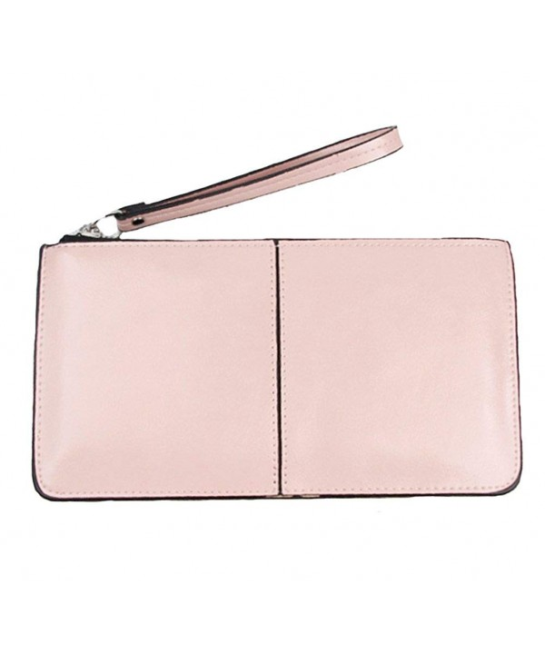 iToolai Womens Leather Wristlet Clutches