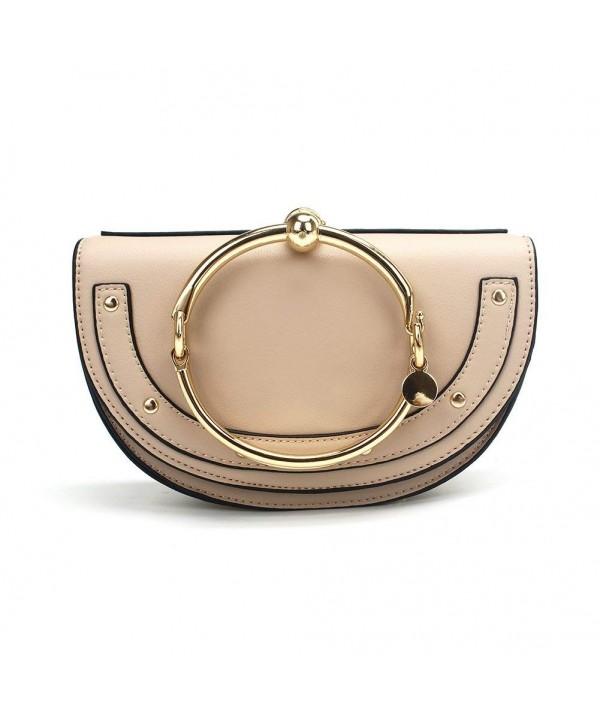 Yoome Circular Handle Handbags Crossbody