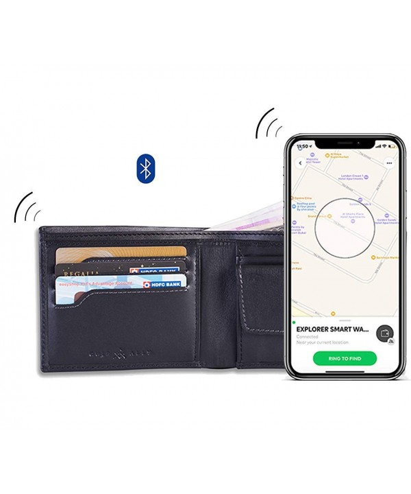 Explorer Anti Theft Bluetooth Trackable Wallet