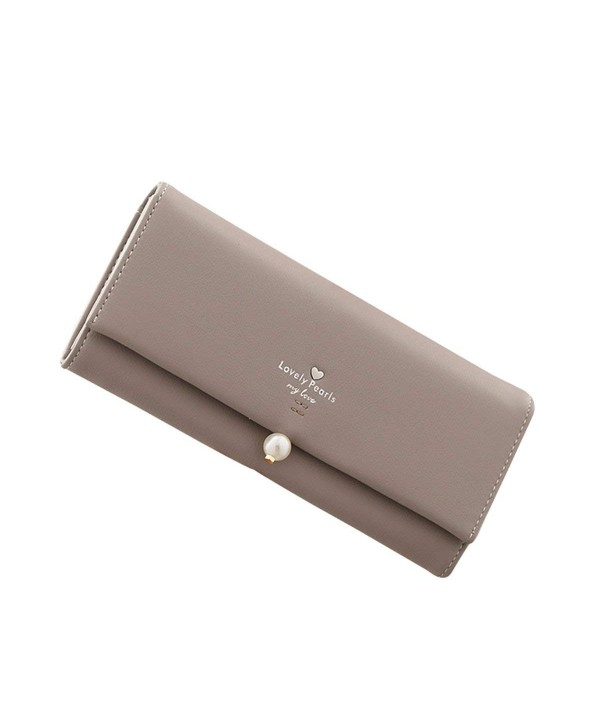 HeySun Womens Leather Wallet Fashion