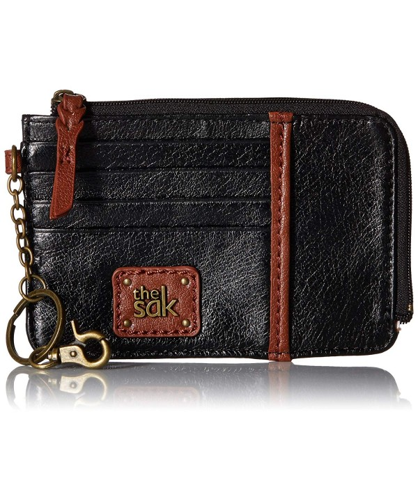 Sak Iris Card Wallet Black